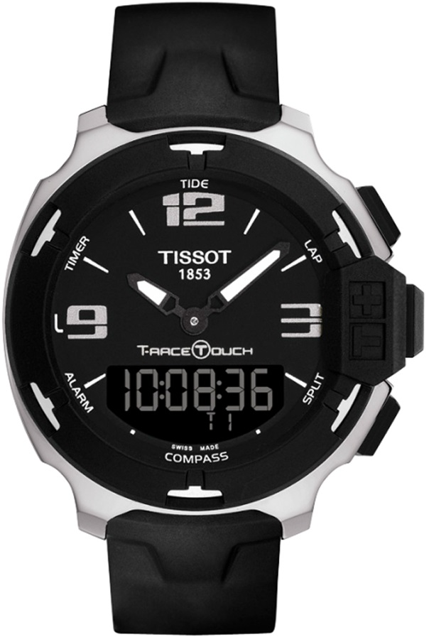 Tissot T Race Touch Multifunction Stainless Steel Rubber Strap T081