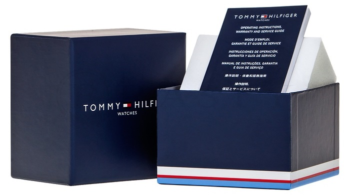 cef23357e5 Tommy Hilfiger Chase Multifunction 44mm Black Stainless Steel ...